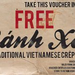 FREE Banh Xeo (Vietnamese Pancakes) @ Rolld (VIC/QLD/ACT) (Print Voucher) Valid 28/07-01/08