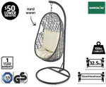 Hanging Egg Chair @ Aldi $199 - Starts Saturday 8th November