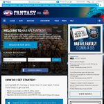 Free AFL Live Pass Subscription - First 10,000 Complete Classic League Commissioners