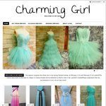 10% off All Orders at Charming Girl Dress Custom Shop