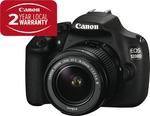 Canon 1200D Single Lens DSLR. The Good Guys. $397