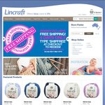 Lincraft - Free Shipping Online (Save $8.95) - Must Be a Member - Free to Join