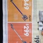 Dyson DC44 Animal Stick $349 & Dyson DC35 Multifloor $299 @ Target
