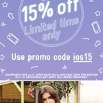 15% off Full Priced ASOS Items (iOS App Only)