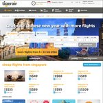 TigerAir Flash Sale (Asian Fares from Singapore from $1 +Tax, NOT Australia) Via Mobile App