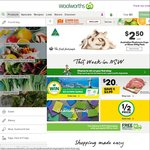 Woolworths - Spend over $100 and Get $10 Rewards Dollars