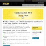 Western Union - First Transaction Free