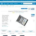 "Dell Inspiron 15 7000 Series 2-in-1 i7-6500U, 8GB RAM, 256GB SSD, 15.6"" FHD $1299 ($400 off)"