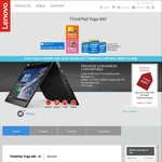 "Lenovo ThinkPad Yoga 460 i5-6200u 8GB 14"" FHD 1TB HDD $948 Shipped @ Lenovo Store (Save $901)"
