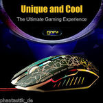 Professional Gaming Mouse USB 2.0 Wired 1000-2400 DPI 6-Button Optical Wheel AU$1.50 Delivered @ phantastik_de  via eBay
