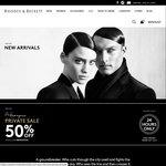 50% Off Everything Online at Rhodes & Beckett
