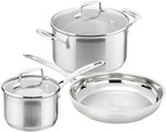 Scanpan Impact 3pc Set w/ Saucepan, Casserole & Frypan for $99 Delivered at Kitchen Warehouse (RRP $315)