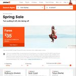 Jetstar Spring Sale: Domestic Airfares from $35, International Airfares from $99