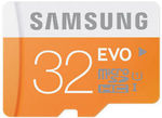 Samsung 32GB EVO MicroSD 48MB/s $10.63 | Samsung 32GB EVO PLUS 80MB/s $11.43, 64GB $20.76, 128GB $52 Posted @ PC Byte/SS eBay