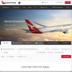 MEL / SYD / BNE to Noumea from $249 One Way Economy / $549 Business Class - Qantas