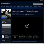 Need for Speed™ Deluxe Edition $14.99 USD (~$20.26 AUD) @ US PSN Store