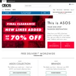 """ASOS 15% off Everything with Code """"YEAHM8"""""""