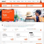 Jetstar Sale - Flights from $125 One Way (E.g. Sydney-Christchurch), Various Locations