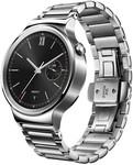 Huawei W1 Watch Silver Stainless Steel with Silver Link Band $349 at Wireless1