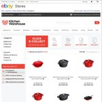 Staub Cast Iron Cookware over 55% off @ eBay Kitchenwarehouse