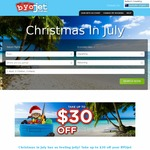 BYOjet AU | Take $30 off International Return Flights + $15 off Trans-Tasman Flights + $10 off Australian Domestic Bookings