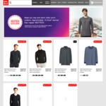Uniqlo Heattech Men's/Women's Tops $14.90/ $19.90, Leggings/Long Johns $19.90, Pants $29.90