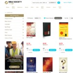 Bible Society Australia: Spring Flash Sale - 85% off Selected Books and Bibles (Variable Shipping)