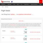 Qantas/LATAM Flights to Lima, Peru, Rio De Janeiro and Sao Paulo Brazil and Santiago, Chile for $1099 Return