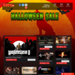 Halloween Gamer Sale: Games from $1.29 (Resident Evil, Wolfenstein, Left 4 Dead 1 and 2, etc) @ HRK