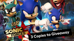 Win 1 of 3 Copies of Sonic Forces on Nintendo Switch from Vooks