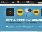 Free Zagg invisibleSHEILD with Purchase from USD $61.53 Delivered