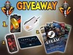 Win a Steelseries Rival 100 Mouse, Circle Gaming Bag and Mousepad, or Steam wallet code From Fuzion Gaming (FB)