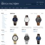 $100 Off @ The Watch Factory ($250 Minimum Cart)