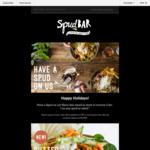 BOGOF Spud or Salad at Spudbar (VIC, QLD, WA)