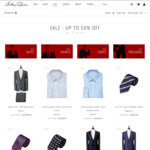 Anthony Squires SALE | Up to 50% OFF - Luxury Suits, Sport Coats, Business Shirts, Trousers