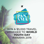 Win a Travel Voucher Worth $5,000 from Catholic Super