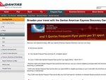 Qantas American Express Discovery Card $0 Annual Fee 1 FF Point Per $1, up to 10k FF Bonus