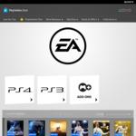 [PS4] PS Store EA Sale (eg. TF2 Ultimate $17.95, BF1 Revolution & TF2 Bundle $39.95, NBA Live 18 $13.95) @ Playstation AU