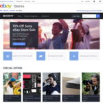 """10% off Sony eBay Store (Min Spend $200) + Extra 5% off - eg Sony 65"""" X8500E 4K HDR TV (Refurbished) $1452.64 Delivered"""