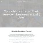 Business Programs 2018 for Kids (Melbourne, Perth, Brisbane) $340 for General Admission @ Business Camp