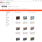 LEGO 20% off with Additional eBay 20% off eg LEGO Creator Expert Assembly Square, Tower Bridge $255.97 Delivered @ Myer eBay