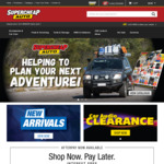 Spend $60 Get $10 Credit or $100 and Get $20 Credit @ Supercheap Auto (Club Plus Members)