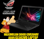 "Win an ASUS ROG Strix 15.6"" Core i7 Gaming Laptop Worth $1,799 from Maximilian/ASUS ROG"