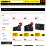 15% off Canon, Nikon, Panasonic & Olympus Cameras @ JB Hi-Fi