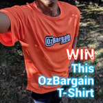 """Win $250 / $200 / $150 Cash Prize + OzBargain T-Shirt by Posting Photo or Video of an """"Active OzBargainer"""""""