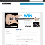 Win a Schecter Keith Merrow KM-6 MK-II Guitar Worth $2,618 from Fishman/Schecter