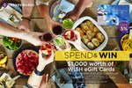 Win $1,000 Worth of WISH eGift Cards Each Week in July from Cashrewards (Purchase $100+ WISH Gift Cards)