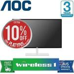 "AOC Q3279VWF QHD 32"" Monitor $269.10 Delivered with eBay Plus @ Wireless1 eBay"