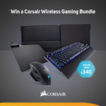 Win a Corsair Wireless Gaming Bundle Worth $600 from Scan
