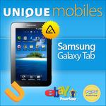 Unlocked Samsung Galaxy Tab $599
